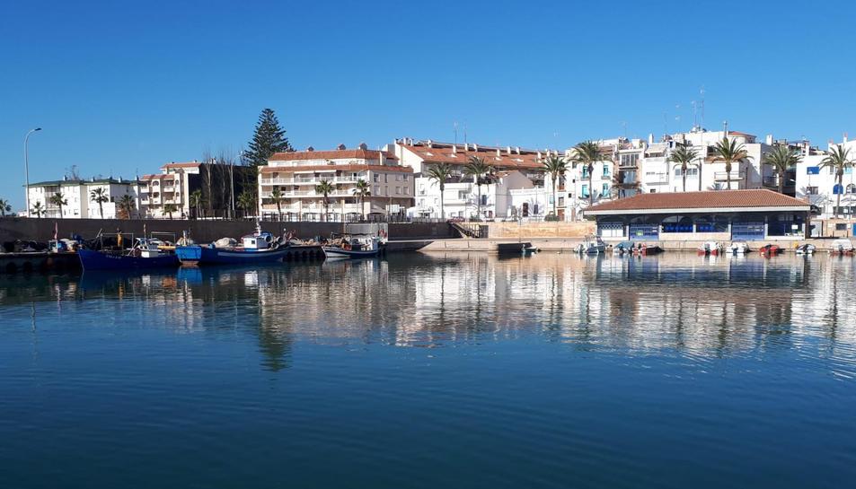 Imatge del port de les Cases d'Alcanar.