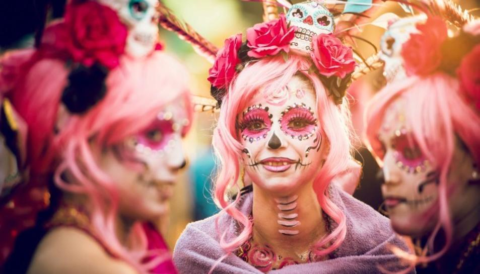 Imatge d'una disfressa del Carnaval de Tarragona en l'edició 2019.
