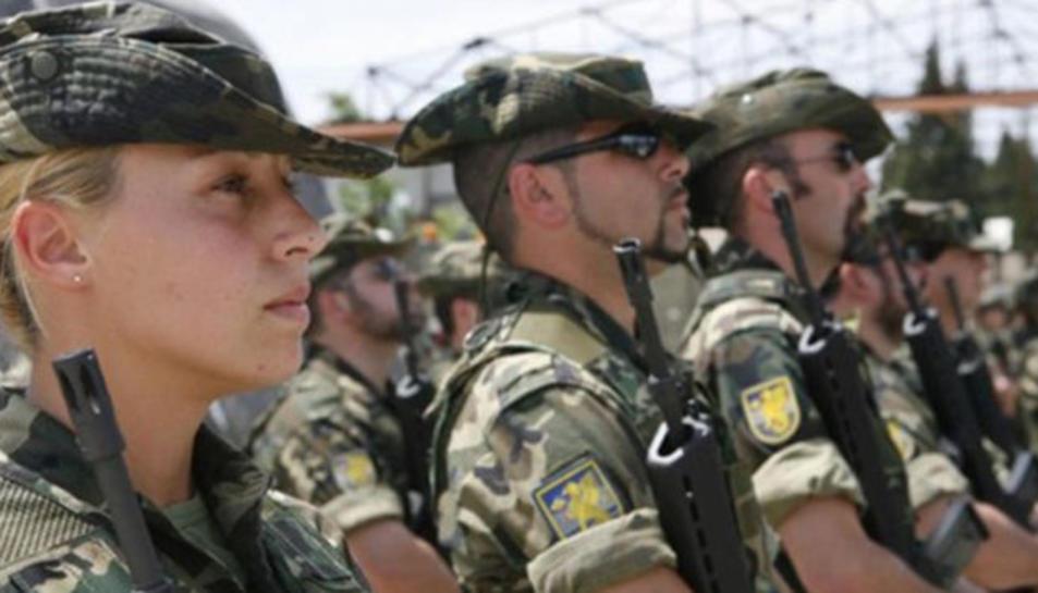 Imatge d'arxiu de militars de l'exèrcit de terra.