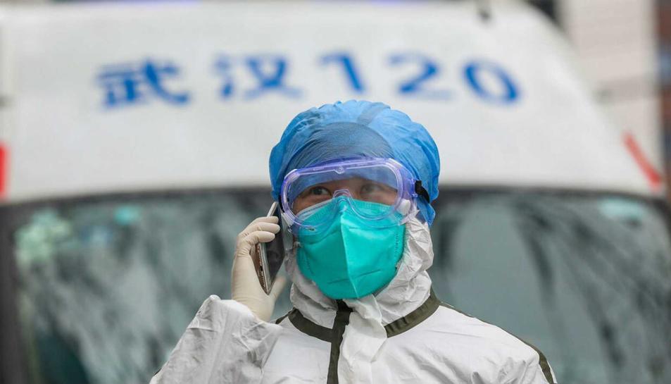 Imatge de les mesures de prevenció que es prenen a la Xina,