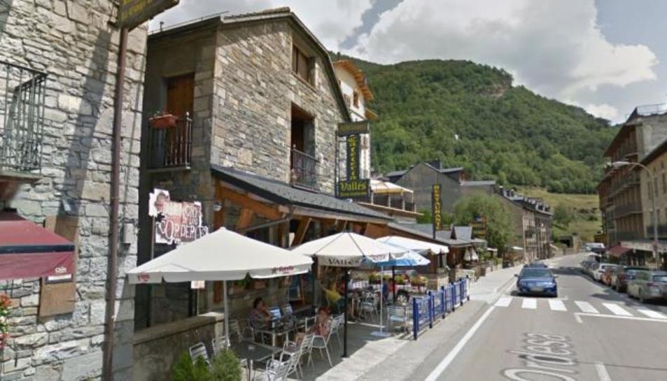 Imatge del restaurant al qual treballava.