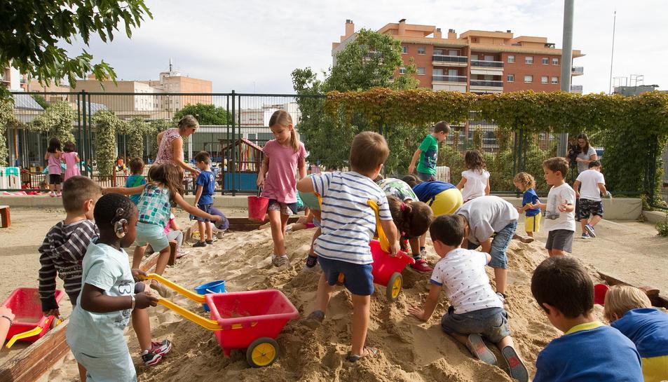 Inici del curs 2017-2018 a l'Alberich i Casas