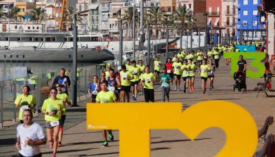 Imatge d'arxiu de la Cursa per a la Marató al Moll de Costa.