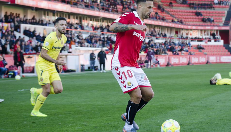 El migcampista va disputar tots els partits des que es va recuperar fins que va tornar a caure lesionat contra el Llagostera.