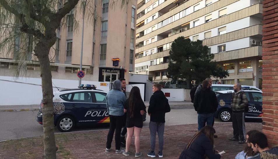 La Policia Nacional va detenir ahir un militant independentista.