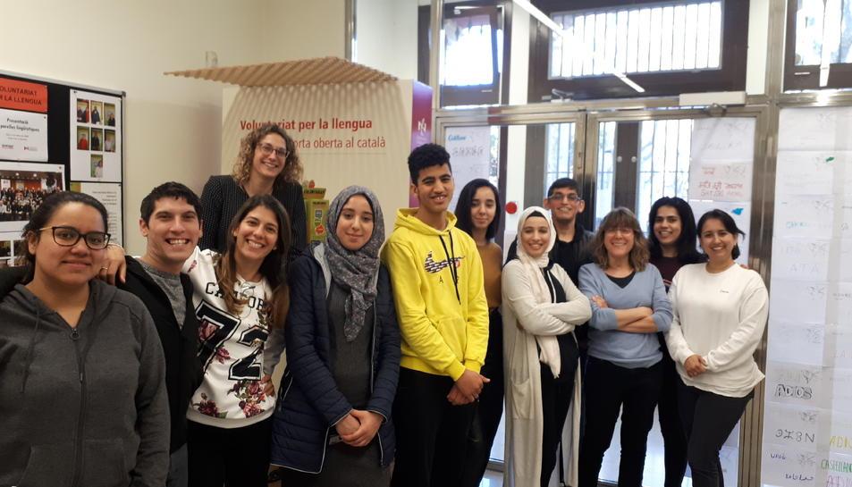 Imatge d'alguns dels alumnes que han participat en la jornada.