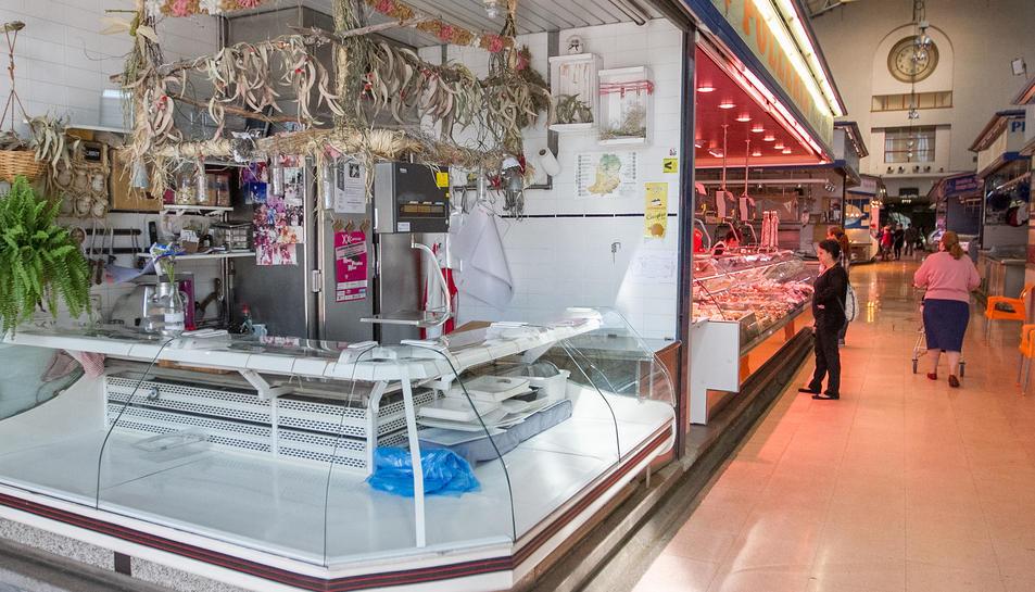 Una imatge d'arxiu de l'interior del Mercat Central.