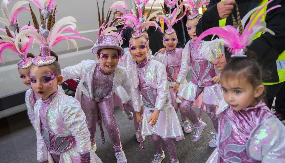 Inici del Carnaval de Tarragona a la plaça Corsini