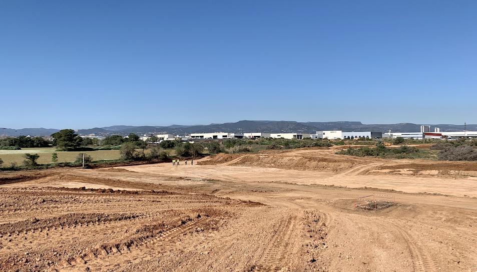 Imatge dels terrenys on s'ubicarà el PPU10.