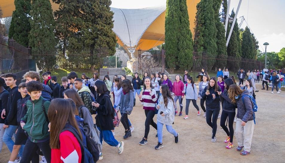 Marxa solidària de Mans Unides al Camp de Mart a Tarragona