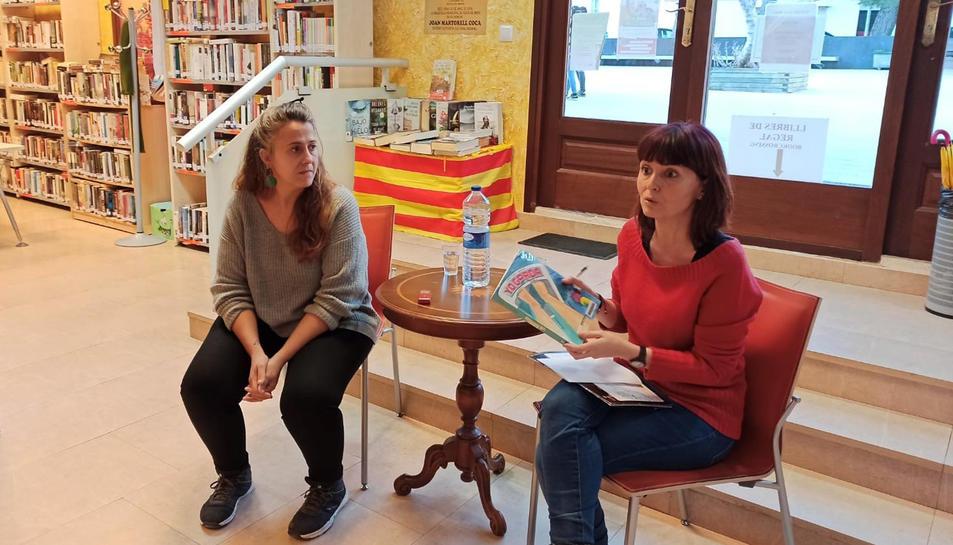 Imatge de la presentació del nou club de lectura de la Biblioteca Municipal, el club llegir còmic.