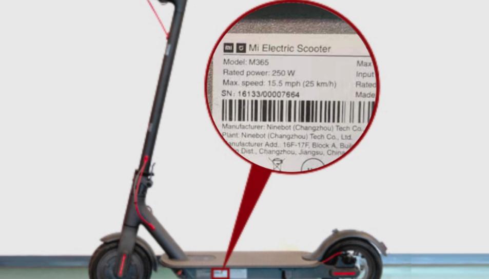 Imatge del model Xiaomi MiScooterM365.