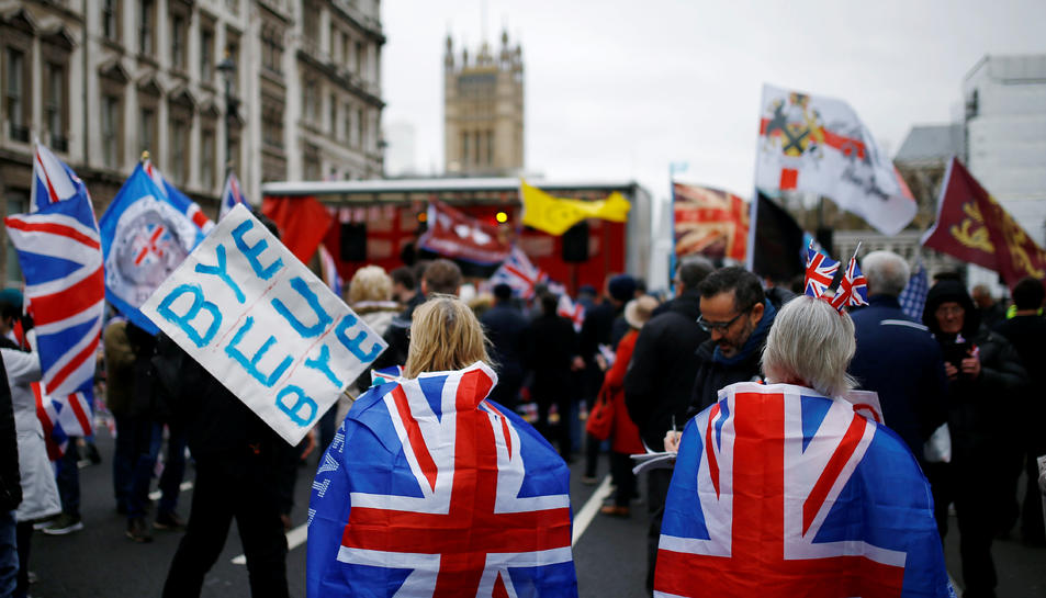 El Regne Unit va abandonar la Unió Europea el passat 31 de gener a les onze de la nit, hora local.