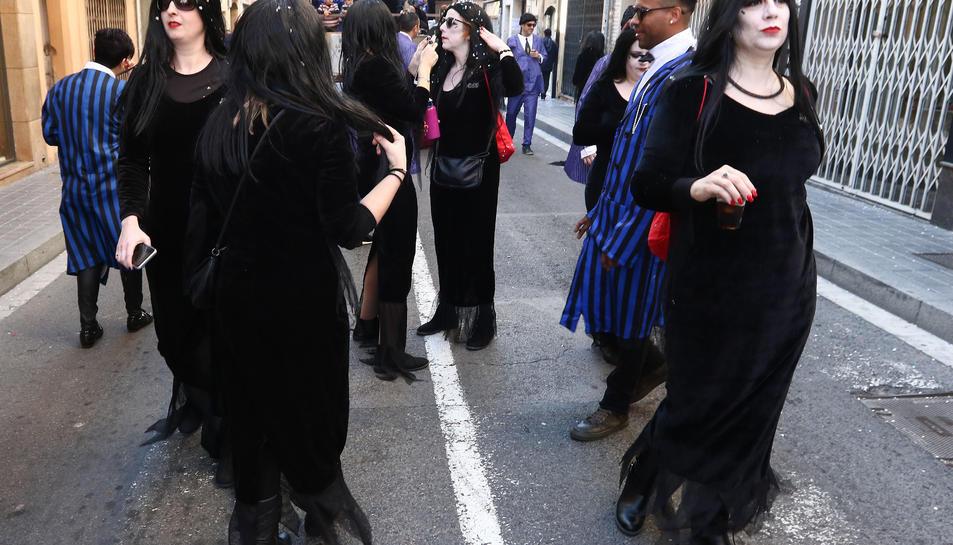 Rua de lluïment del Carnaval de Reus (I)