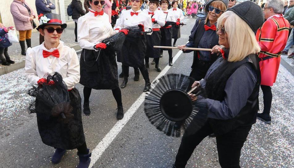 Rua de lluïment del Carnaval de Reus (II)