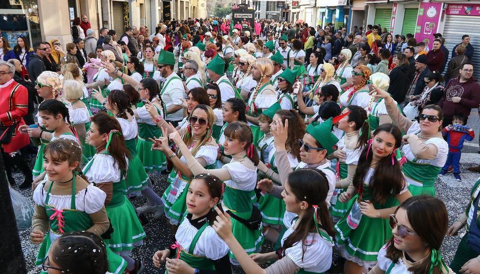 Rua de lluïment del Carnaval de Reus (III)