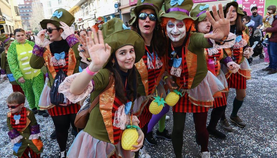 Desfile de lluïment del Carnaval de Reus (IIII)