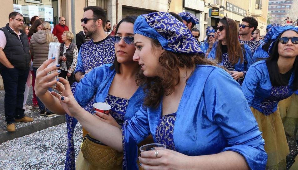 Rua de lluïment del Carnaval de Reus (V)