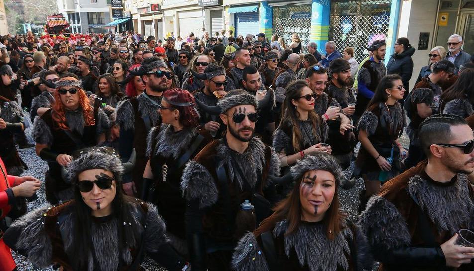 Rua de lluïment del Carnaval de Reus (VI)