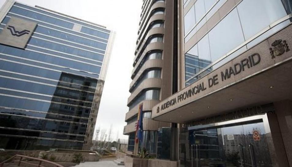 Imatge de l'Audiència Provincial de Madrid.