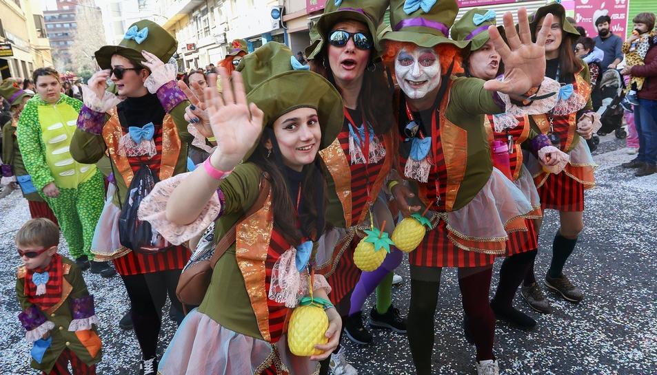 El Desfile Matinal del Carnaval de Reus.04