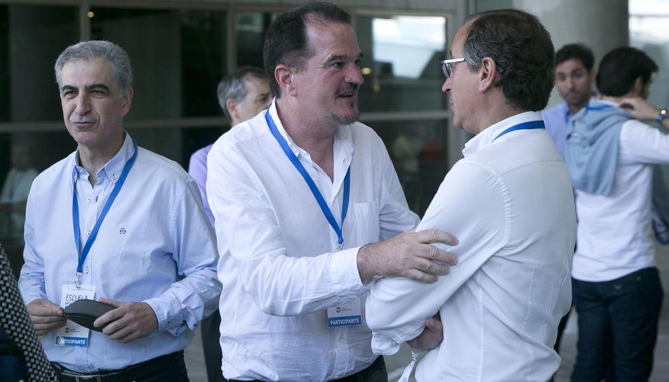 Carlos Iturgaiz i Alfonso Alonso en una imatge d'arxiu.
