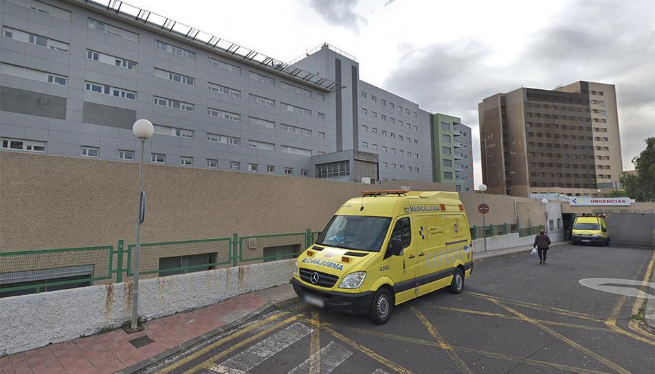 Imatge de l'hospital de la Candelaria on està ingressat el pacient afectat per coronavirus.