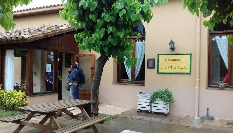 Imatge de la façana del restaurant que va patir l'engany.
