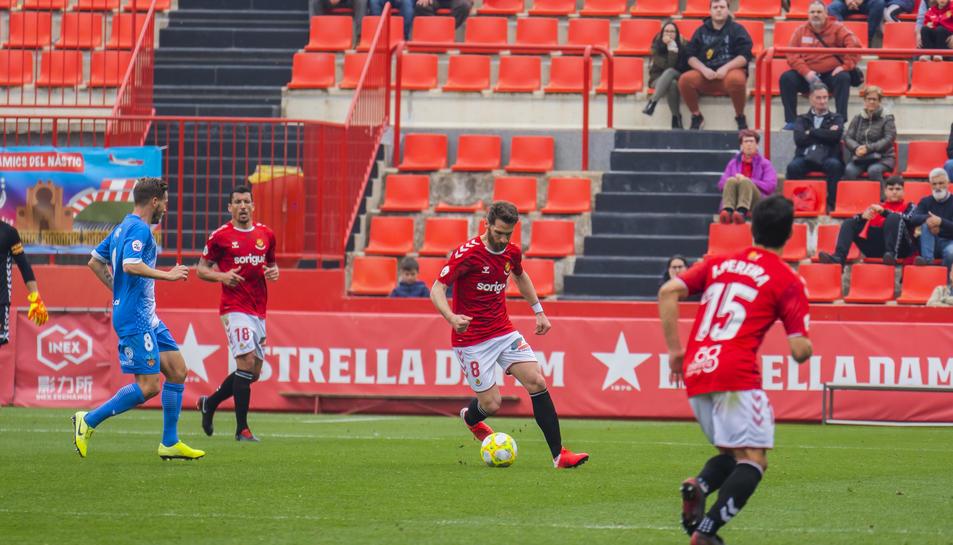 Fausto Tienza podria tornar a l'equip en el partit d'aquest cap de setmana contra el filial valencianista al Nou Estadi.