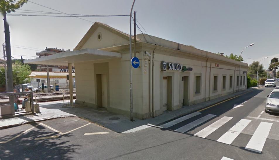 Imatge de l'estació de trens de Salou.