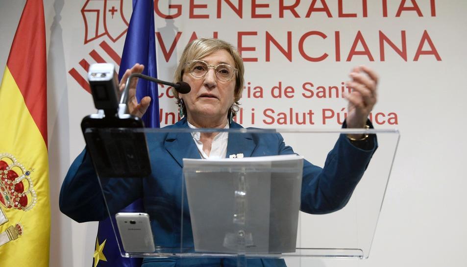 La consellera de Sanitat de la Generalitat Valenciana, Ana Barceló.