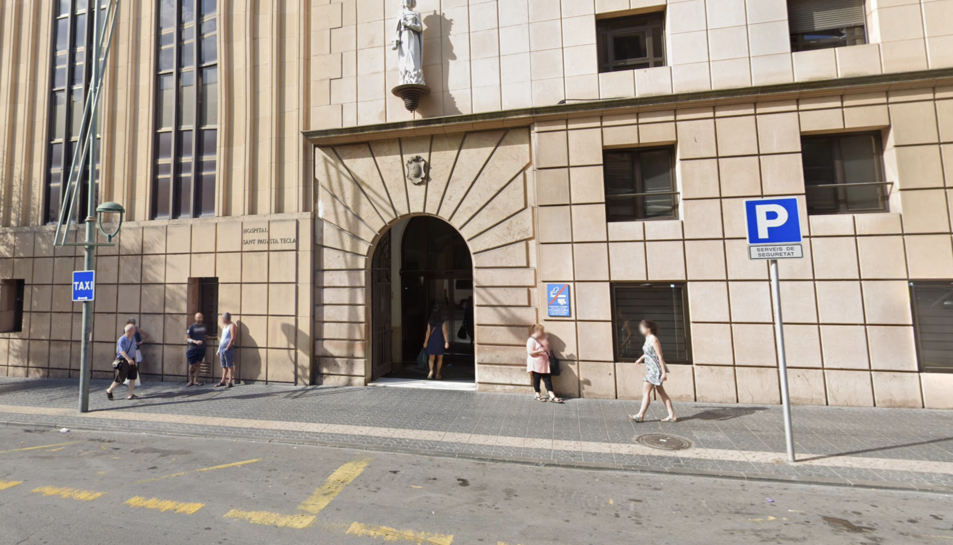 Imatge d'arxiu de l'Hospital Santa Tecla de Tarragona.