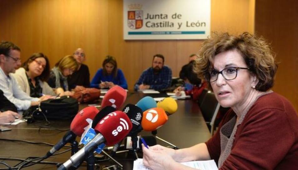 Imatge de la directora general de Salut Pública de la Comunitat, Carmen Pacheco.