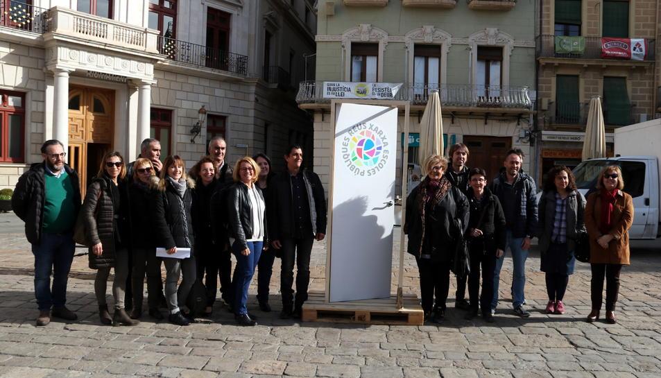 Pla general dels vint directors que han creat la Xarxa d'Escoles Públiques de Reus a la Mercadal.