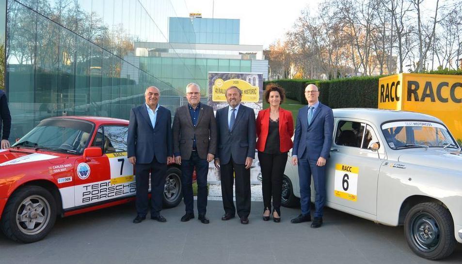 La prova es va presentar ahir a la seu central del Racc, a Barcelona.