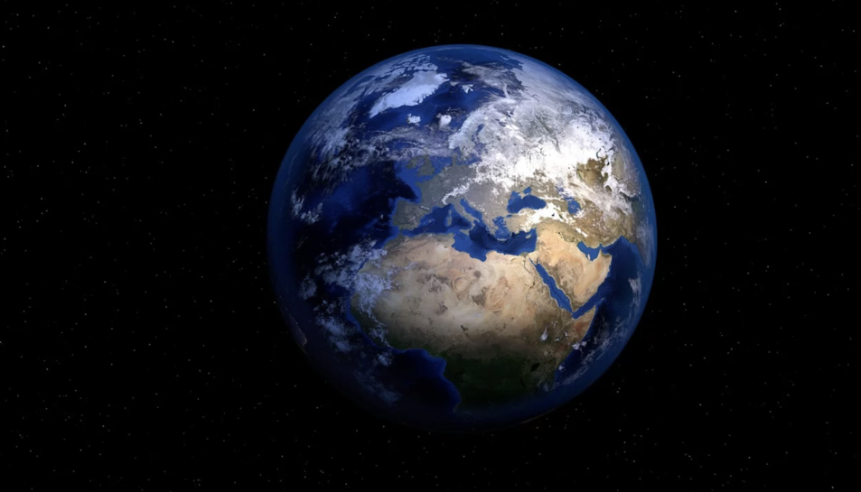 Imatge d'arxiu del planeta Terra.