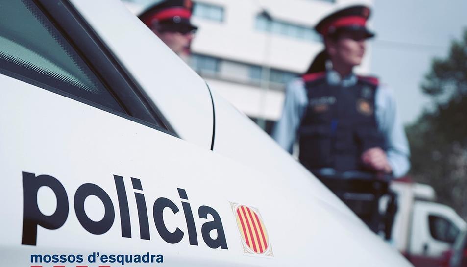 Imatge d'arxiu d'agents dels Mossos d'Esquadra.