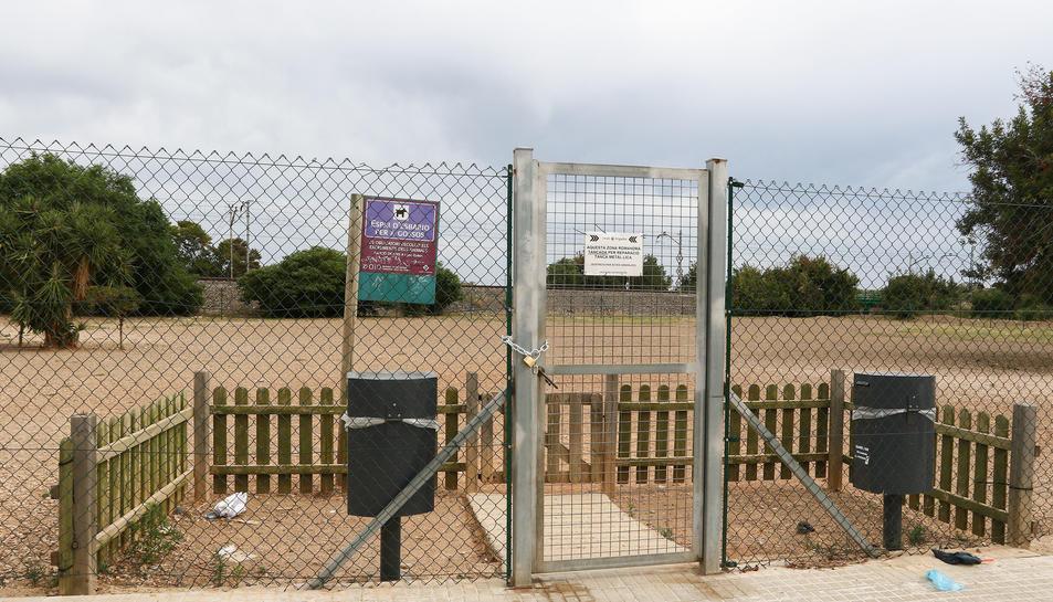 Benestar Animal preveu instal·lar correcans o zones d'esbarjo com aquesta, de la ciutat de Reus