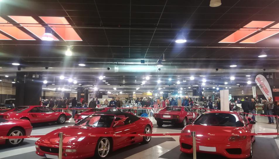 Alguns dels cotxes que han estat exposats a Epocauto