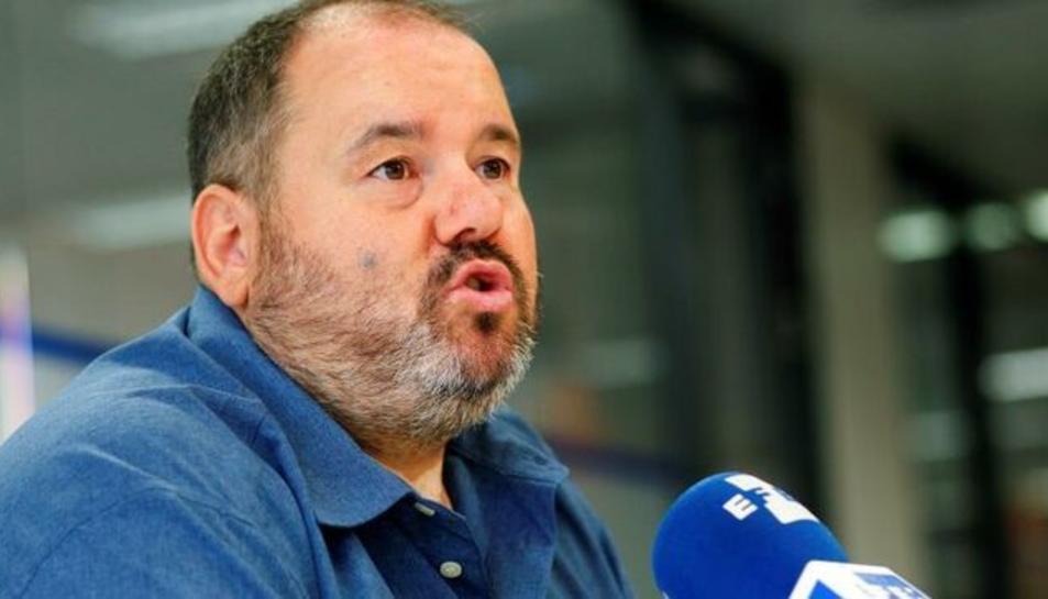 Joan Mena, portaveu de Catalunya En Comú