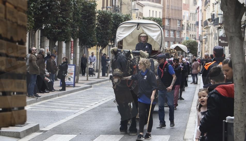 Celebració dels tradicionals Tres Tombs de Reus. 01/03/2020