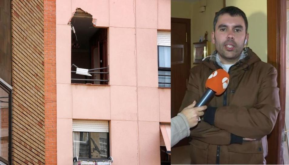 SErgio durant l'entrevista al programa 'Espejo Público'