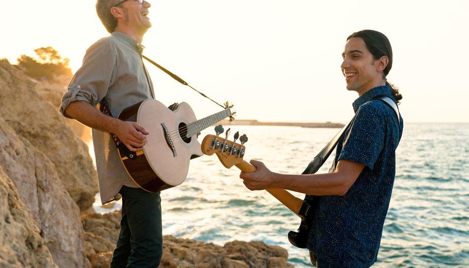 Jordi Suñé i David Morlà, membres del duet Tres.