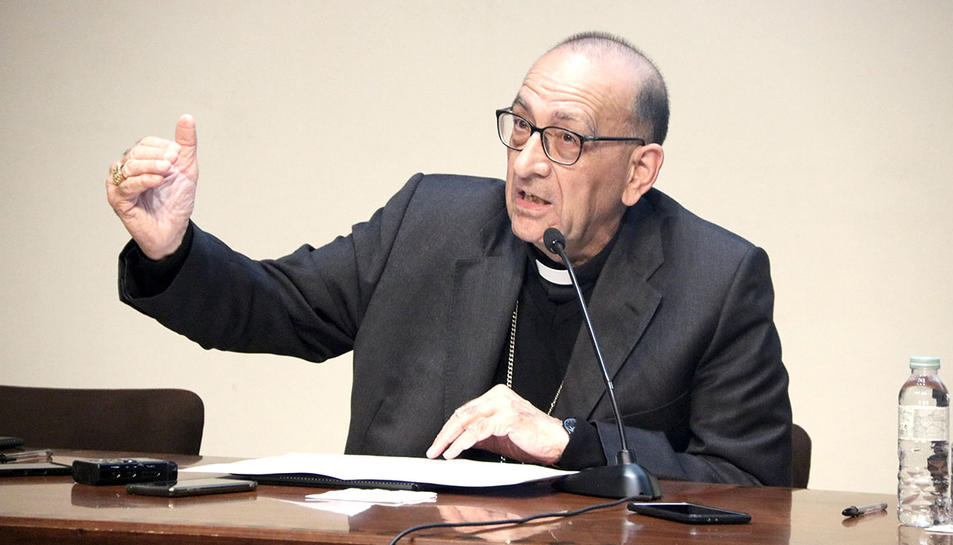 El cardenal Joan Josep Omella.