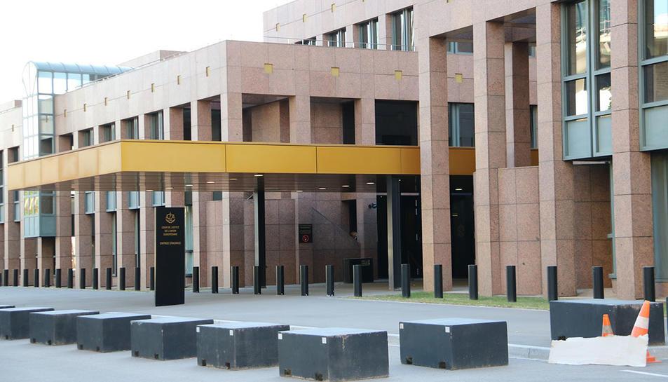 El Tribunal de Justícia de la UE (TJUE) a Luxemburg.