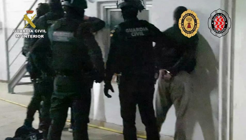 Una de les detencions realitzades durant l'operació 'venasive'.
