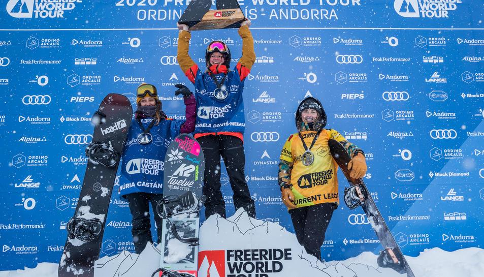 La reusenca va finalitzar segona a la prova que es va disputar dimarts a Andorra.