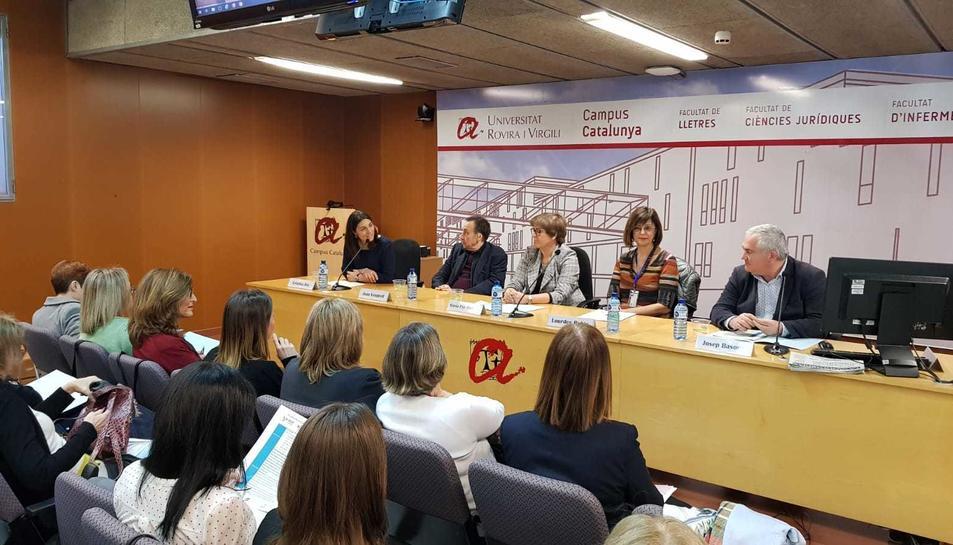 Imatge de la jornada celebrada al Campus Catalunya de la URV.
