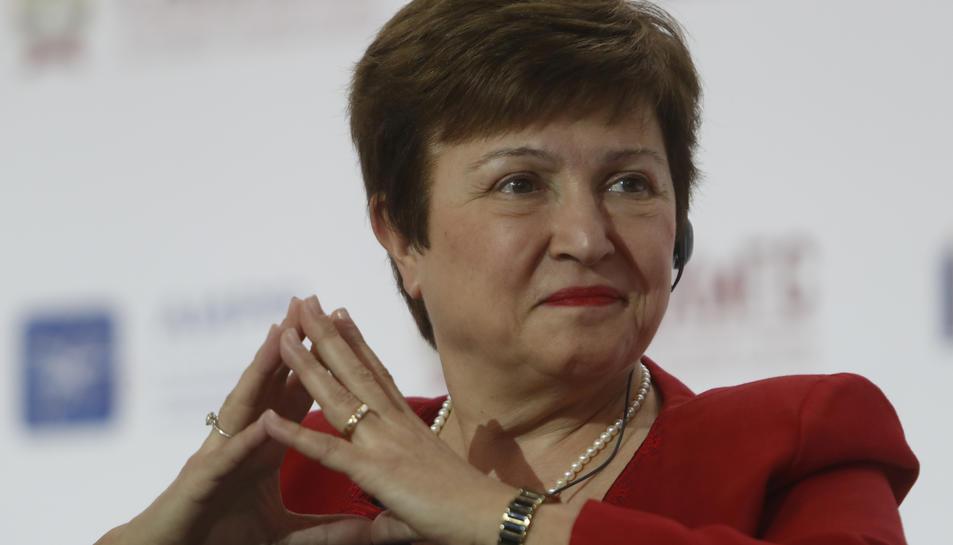 Kristalina Georgieva, directora executiva del Banc Mundial i candidata europea a dirigir el Fons Monetari Internacional, en una fotografia d'arxiu.