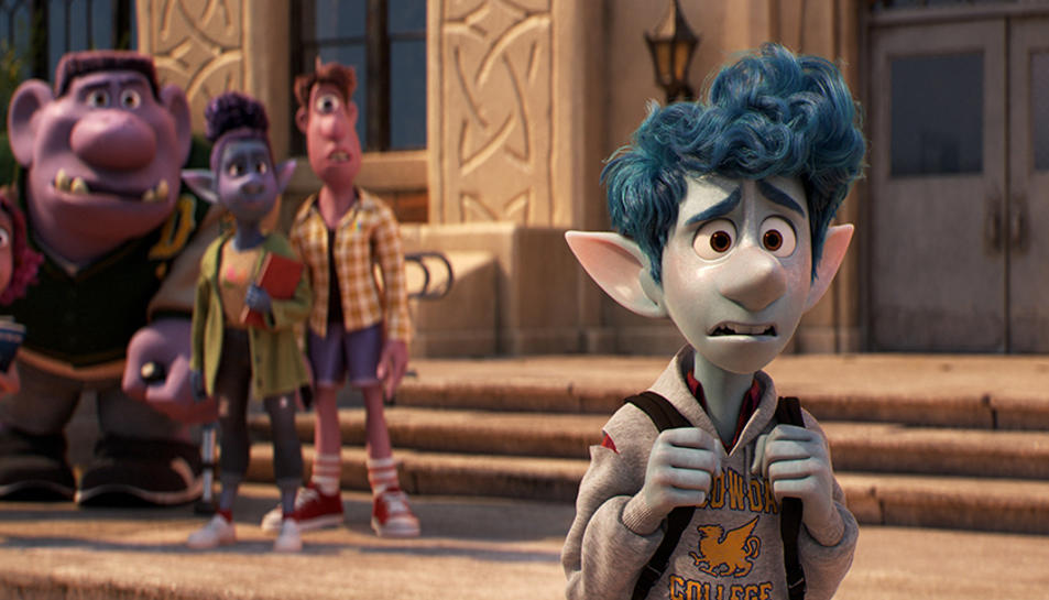 La nova pel·lícula d'animació produïda per Pixar i Disney, 'Onward', arriba als cinemes en català